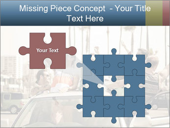 Friends Driving Car In LA PowerPoint Template - Slide 45