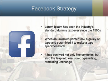 Friends Driving Car In LA PowerPoint Template - Slide 6