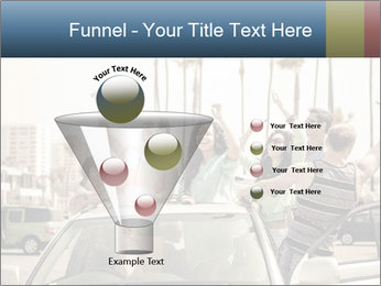 Friends Driving Car In LA PowerPoint Template - Slide 63