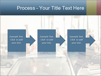 Friends Driving Car In LA PowerPoint Template - Slide 88