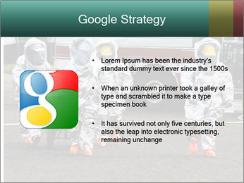 Men Wearing Protective Equipment PowerPoint Template - Slide 10