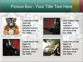 Men Wearing Protective Equipment PowerPoint Template - Slide 14