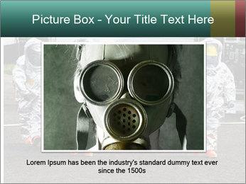 Men Wearing Protective Equipment PowerPoint Template - Slide 16