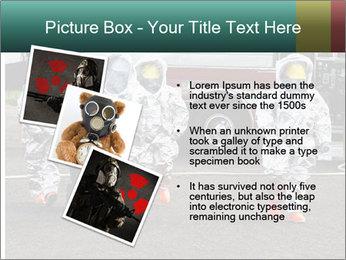Men Wearing Protective Equipment PowerPoint Template - Slide 17