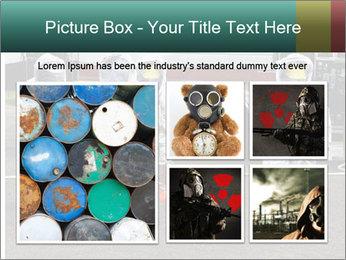 Men Wearing Protective Equipment PowerPoint Template - Slide 19