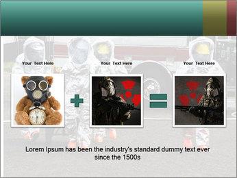 Men Wearing Protective Equipment PowerPoint Template - Slide 22