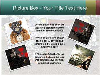 Men Wearing Protective Equipment PowerPoint Template - Slide 24