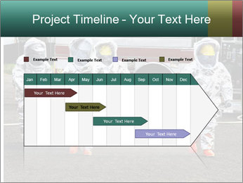 Men Wearing Protective Equipment PowerPoint Template - Slide 25