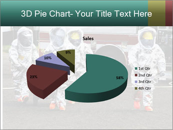 Men Wearing Protective Equipment PowerPoint Template - Slide 35