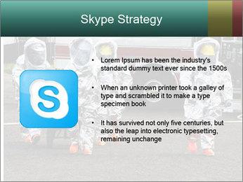 Men Wearing Protective Equipment PowerPoint Template - Slide 8