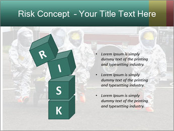 Men Wearing Protective Equipment PowerPoint Template - Slide 81