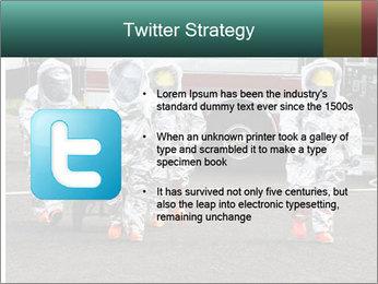 Men Wearing Protective Equipment PowerPoint Template - Slide 9