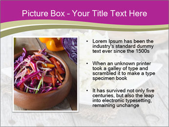 White Cabbage Salad PowerPoint Templates - Slide 13