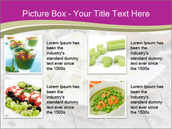 White Cabbage Salad PowerPoint Templates - Slide 14