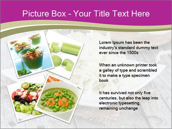 White Cabbage Salad PowerPoint Templates - Slide 23