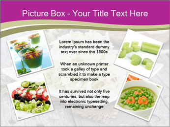 White Cabbage Salad PowerPoint Templates - Slide 24