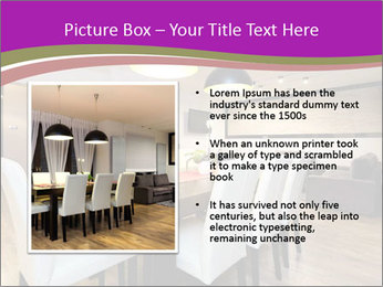 Stylish Dining Room PowerPoint Template - Slide 13