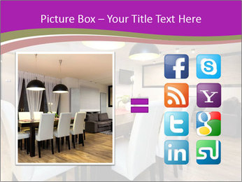 Stylish Dining Room PowerPoint Template - Slide 21