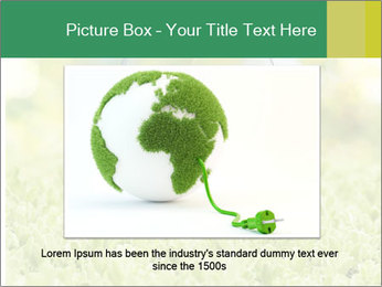 Green Light Bulb PowerPoint Template - Slide 15