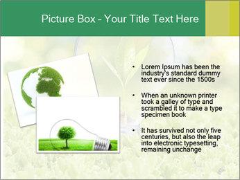 Green Light Bulb PowerPoint Template - Slide 20
