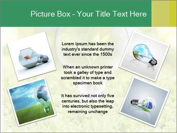 Green Light Bulb PowerPoint Template - Slide 24