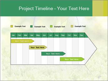 Green Light Bulb PowerPoint Template - Slide 25