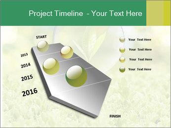 Green Light Bulb PowerPoint Template - Slide 26