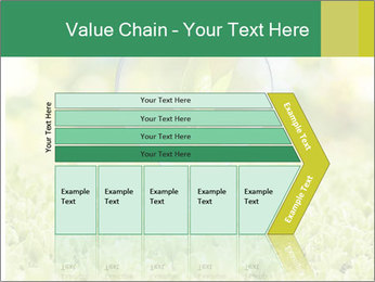 Green Light Bulb PowerPoint Template - Slide 27