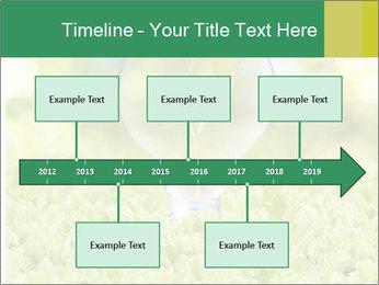 Green Light Bulb PowerPoint Template - Slide 28