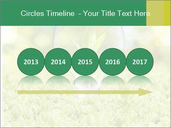 Green Light Bulb PowerPoint Template - Slide 29