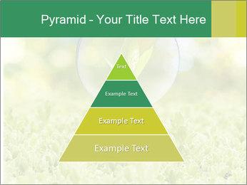 Green Light Bulb PowerPoint Template - Slide 30