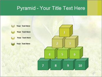 Green Light Bulb PowerPoint Template - Slide 31