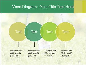 Green Light Bulb PowerPoint Template - Slide 32