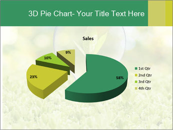 Green Light Bulb PowerPoint Template - Slide 35