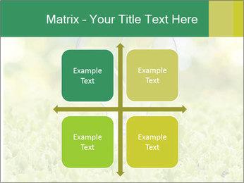 Green Light Bulb PowerPoint Template - Slide 37