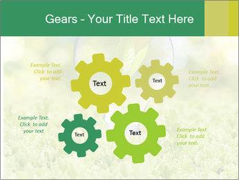 Green Light Bulb PowerPoint Template - Slide 47