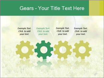 Green Light Bulb PowerPoint Template - Slide 48