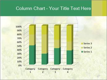 Green Light Bulb PowerPoint Template - Slide 50
