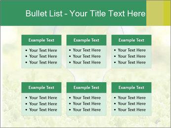 Green Light Bulb PowerPoint Template - Slide 56