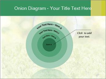 Green Light Bulb PowerPoint Template - Slide 61