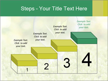 Green Light Bulb PowerPoint Template - Slide 64
