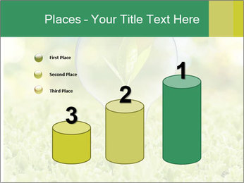 Green Light Bulb PowerPoint Template - Slide 65