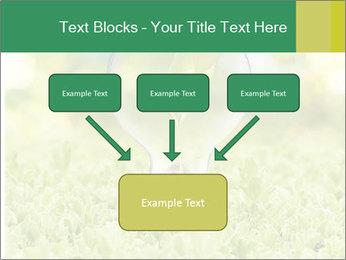 Green Light Bulb PowerPoint Template - Slide 70