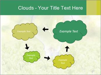 Green Light Bulb PowerPoint Template - Slide 72