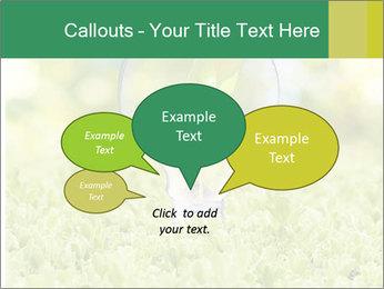 Green Light Bulb PowerPoint Template - Slide 73