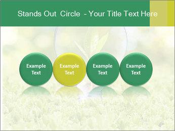Green Light Bulb PowerPoint Template - Slide 76