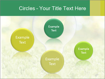 Green Light Bulb PowerPoint Template - Slide 77