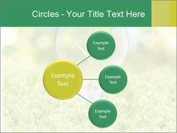 Green Light Bulb PowerPoint Template - Slide 79