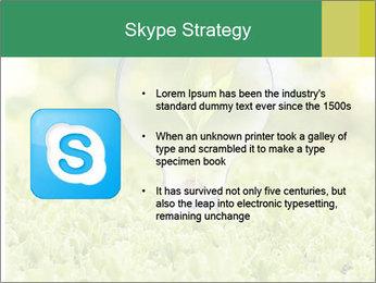 Green Light Bulb PowerPoint Template - Slide 8