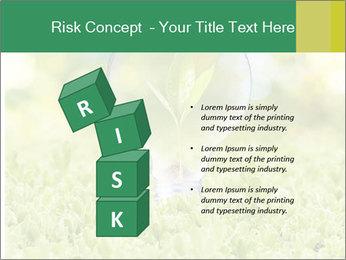 Green Light Bulb PowerPoint Template - Slide 81